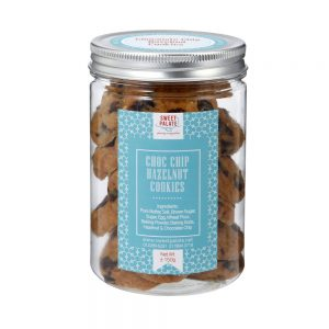 Chocolate Chip Hazelnut Cookies Jar
