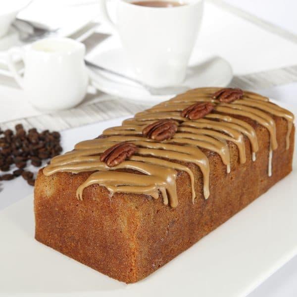 Coffee Pecan Loaf Cake