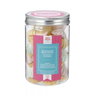 Meringue Kisses With Cookies Jar