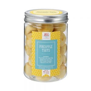 Pineapple Balls Jar
