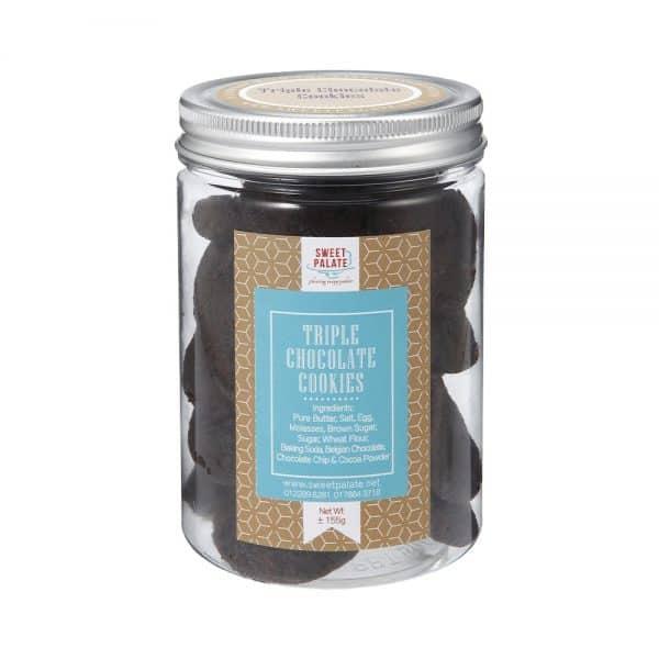 Triple Chocolate Cookies Jar
