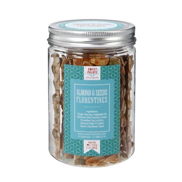 Almonds & Seeds Florentines