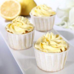 Lemon Butter Cupcake