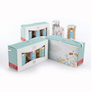 3-Jar Cookie Box