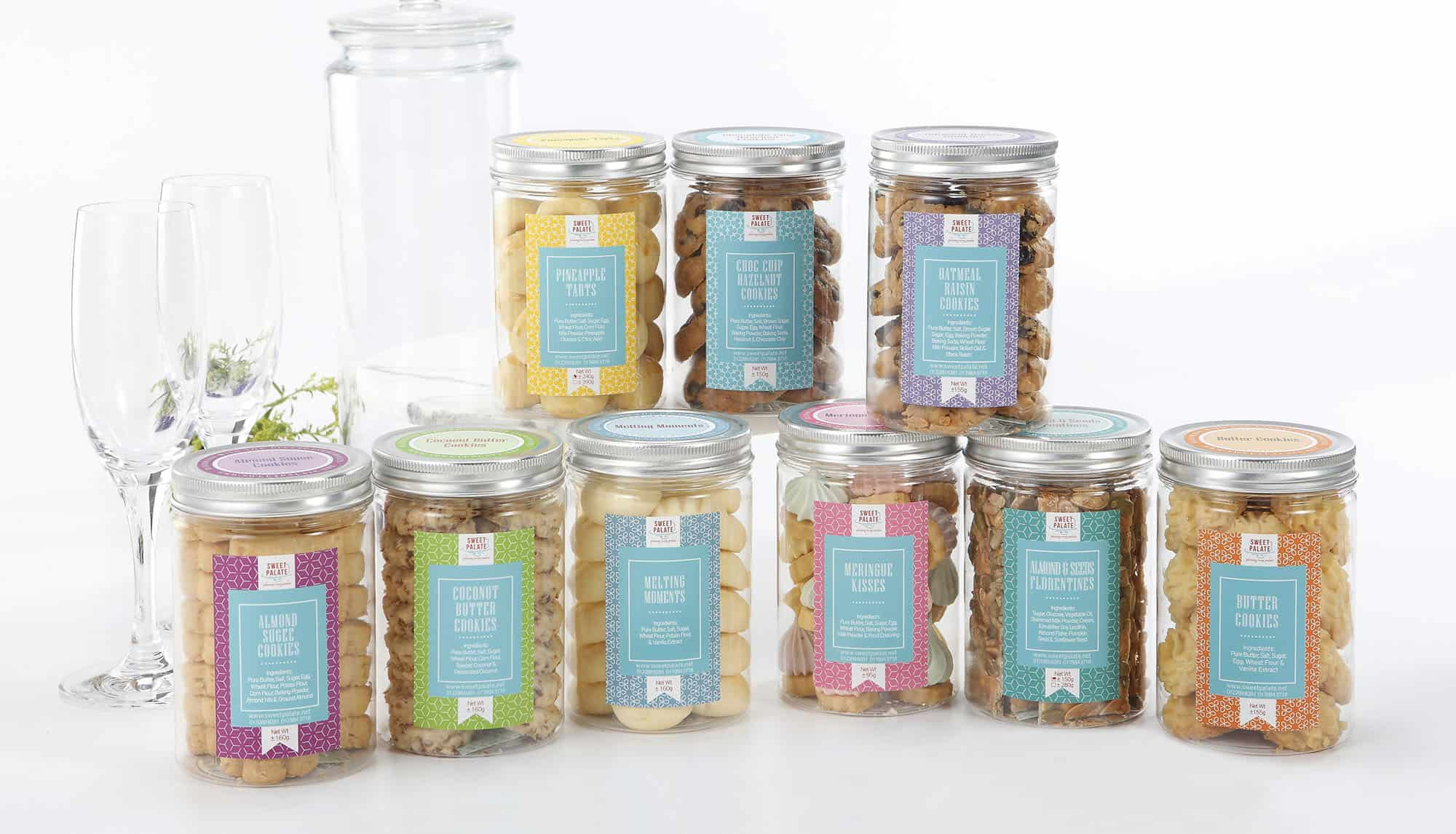 Sweet Palate Cookies Jar Series